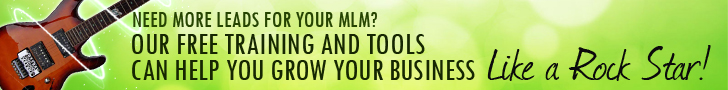 Need More Leads for your MLM? Our Free Training and Tools Can Help You Grow Your Business Like a Rock Star!